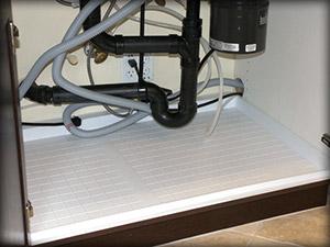 Kitchen Slide N' Fit Under Sink Pan