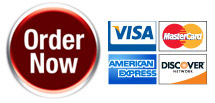 Order now, all major credit cards accepted